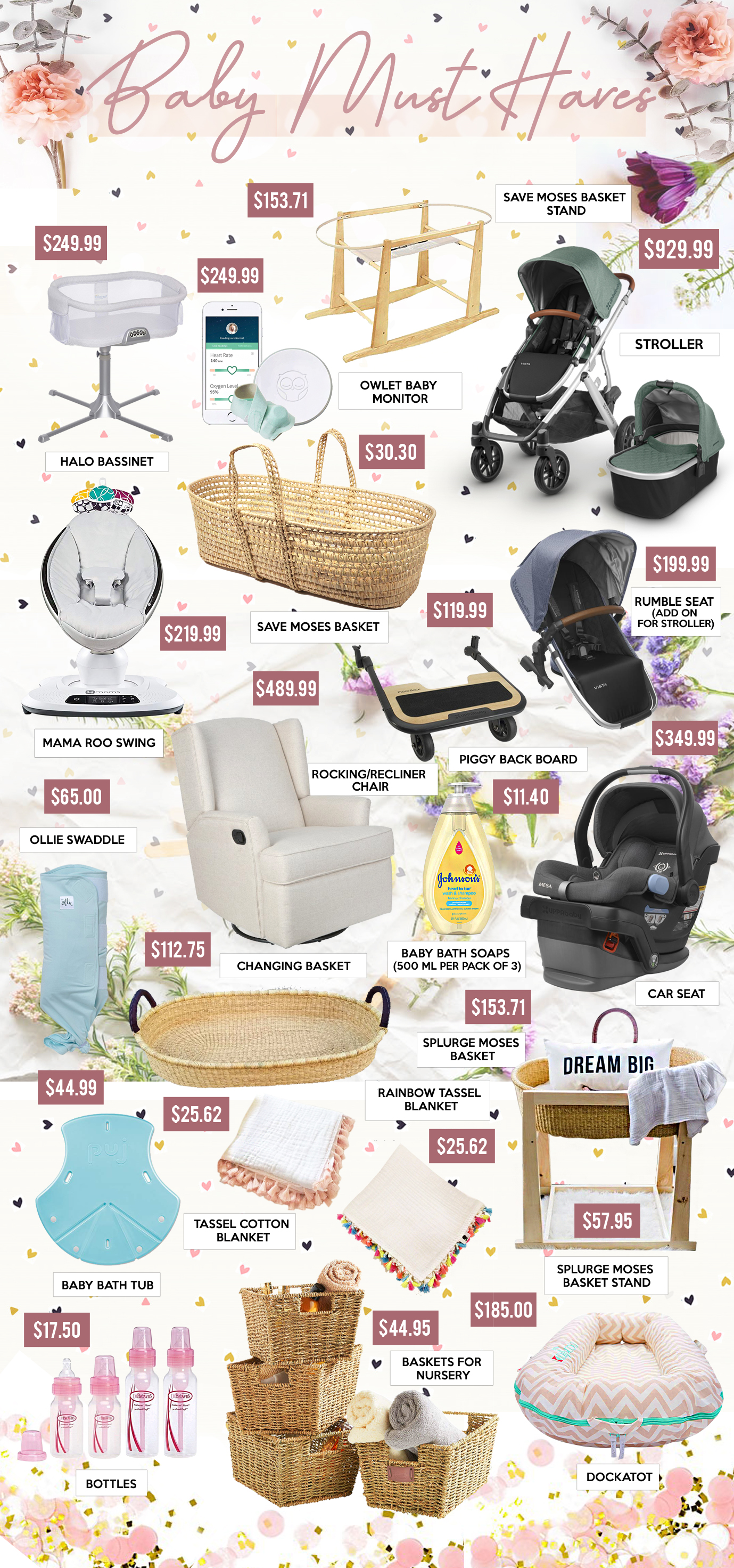 Gift Guide - BABY MUST HAVES