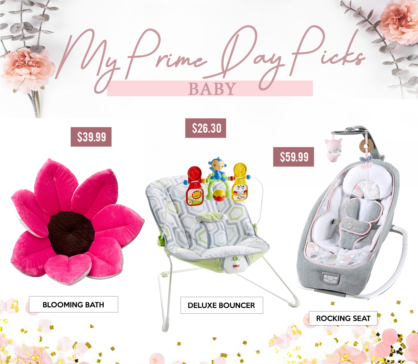Gift Guides - MY PRIME DAY PICKS - Baby