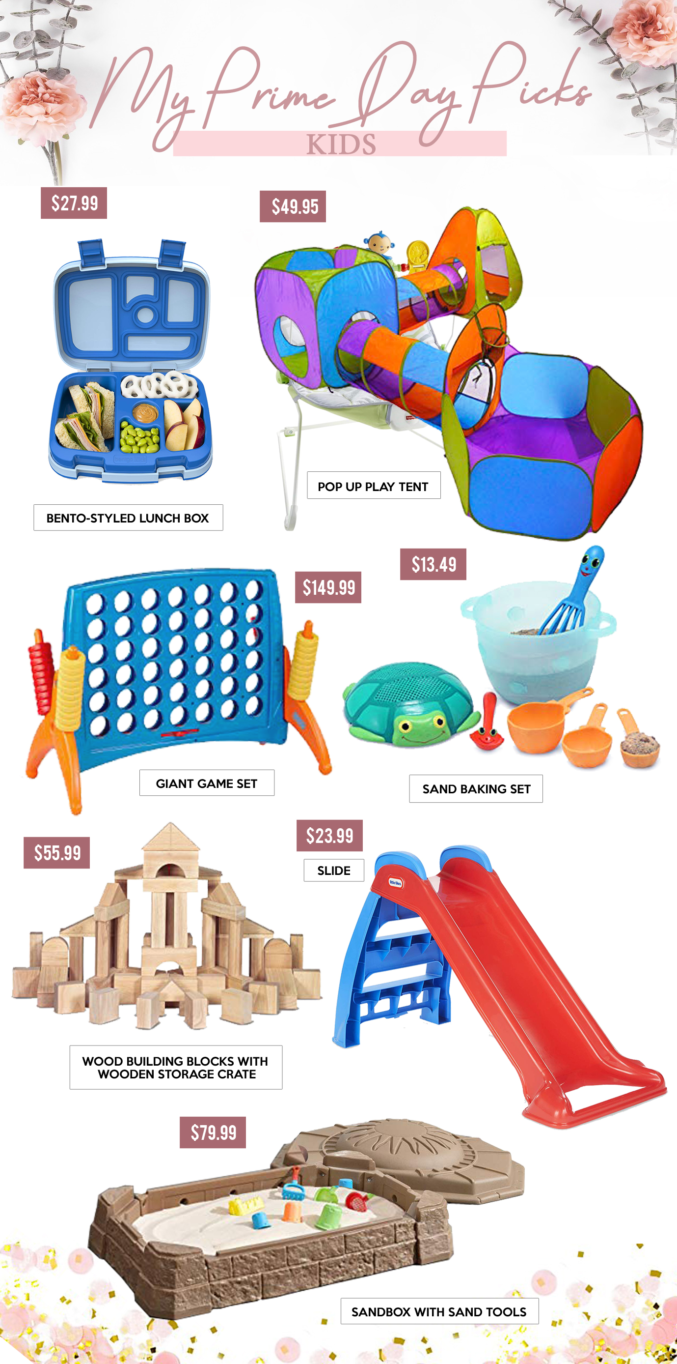Gift Guides - MY PRIME DAY PICKS - Kids