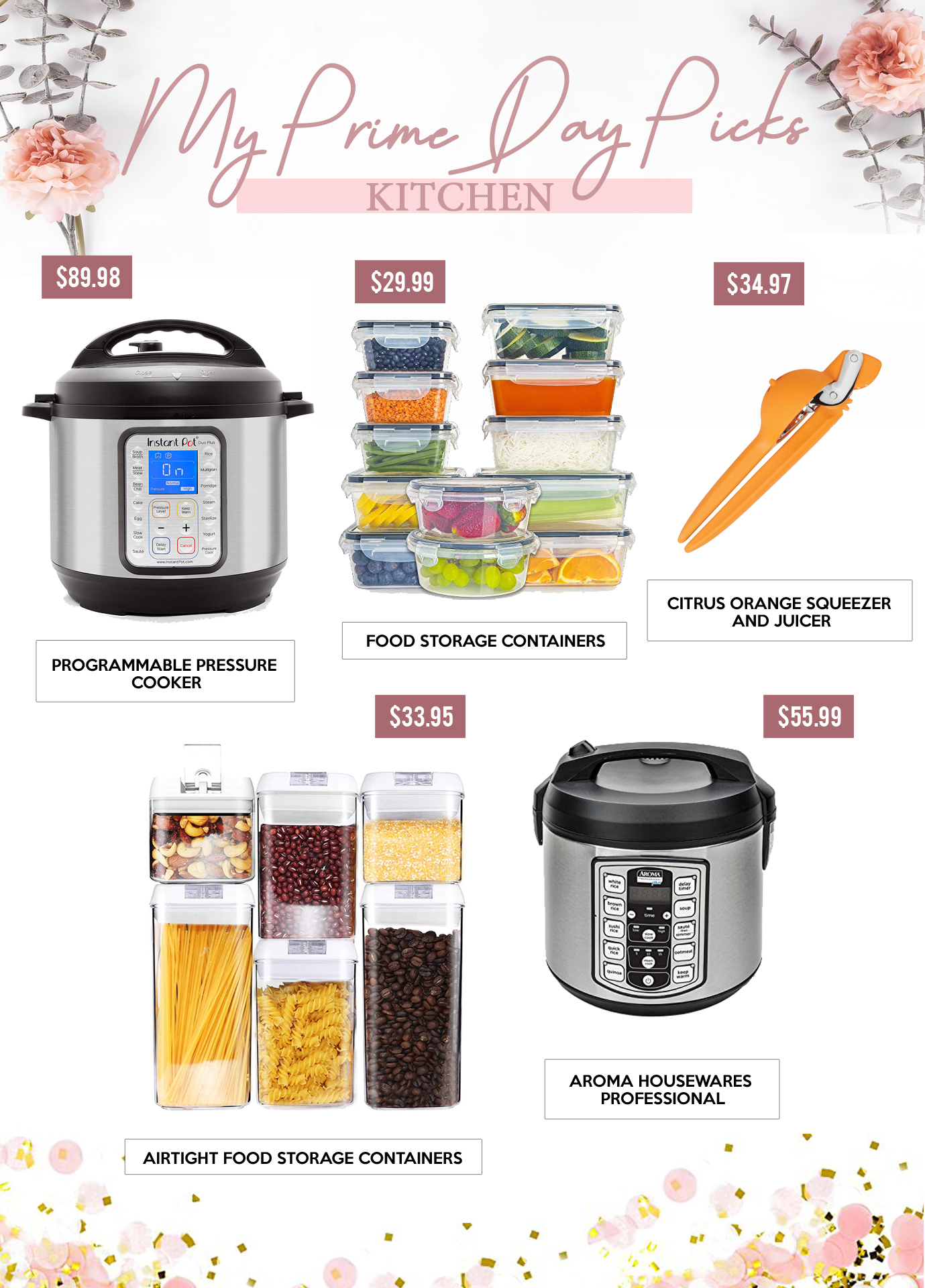 Gift Guides - MY PRIME DAY PICKS - Kitchen