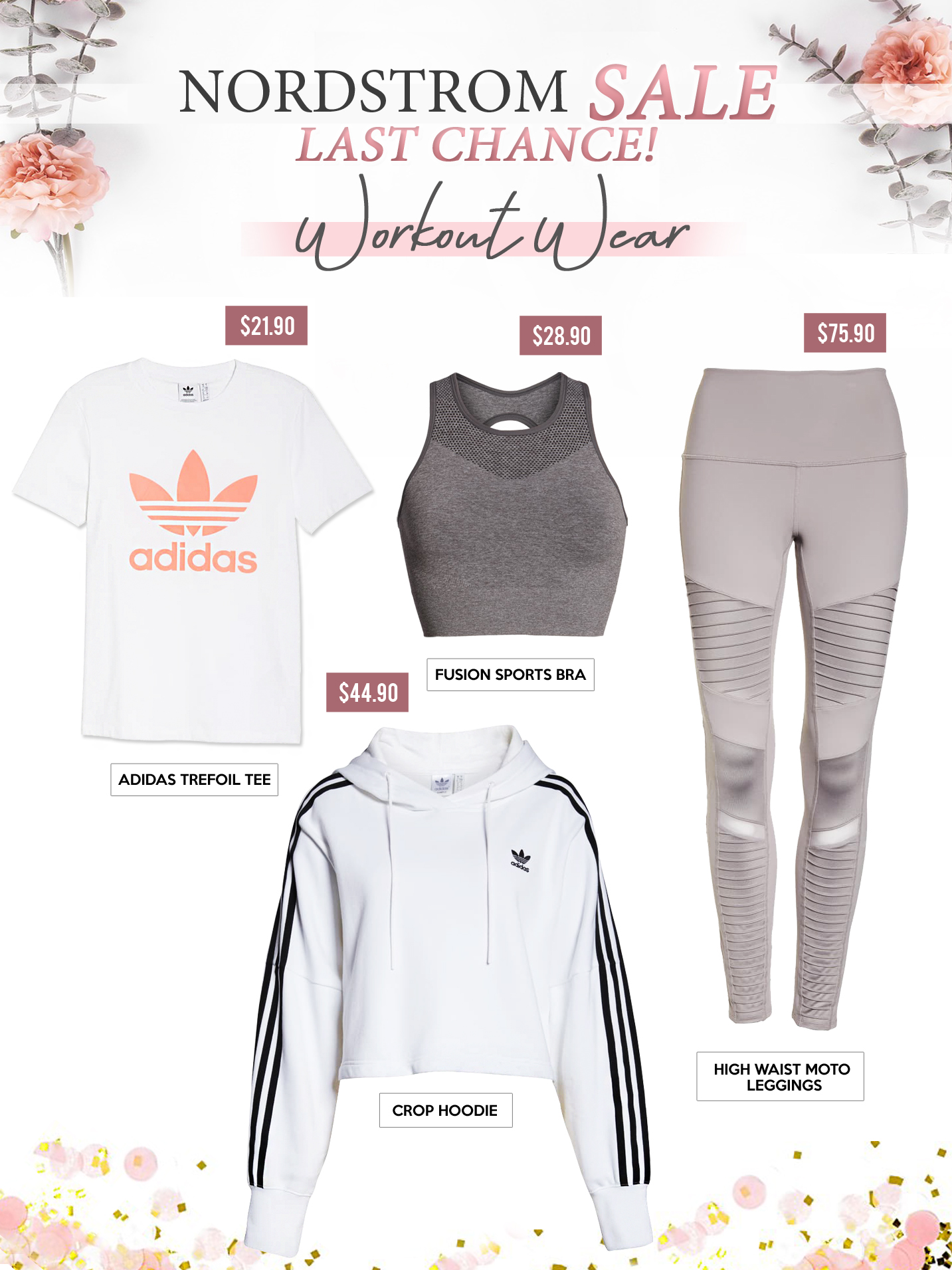Gift Guides - WORK OUT WEAR - NORDSTROM SALE LAST CHANCE! - Copy